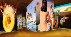 Expo Dali  » l'énigme sans fin  » aux Carrières de Lumière @ Carrières de Lumière